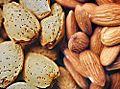 Nötter är en bra källa för B2-vitamin - Riboflavin