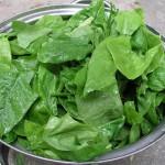 Bild: wikimedia commons - Spenat är en bra källa för B9 vitamin - Folsyra