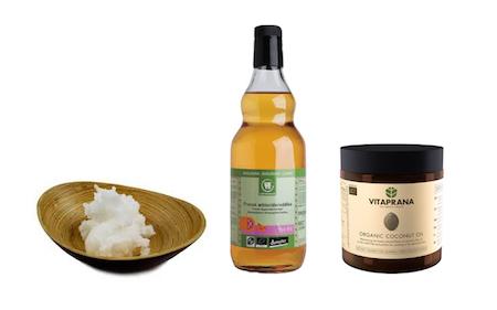 Kokosolja och äppelcidervinäger mot huvudlöss