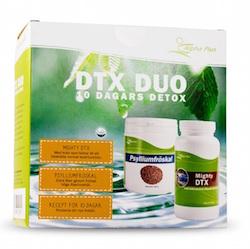 Detoxpaket DTX DUO från Alpha Plus