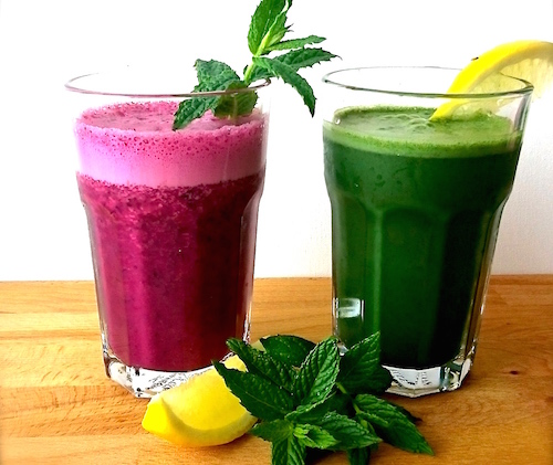 Sommar smoothies