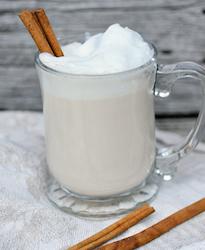 Vit matcha latte