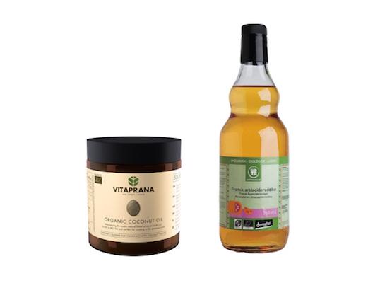 Naturlig behandling huvudlöss - Kokosolja och äppelcidervonäger