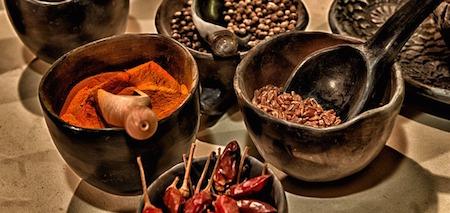 Kryddor med läkande egenskaper