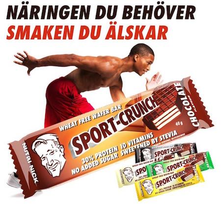 Sport crunch - Nutri Nick