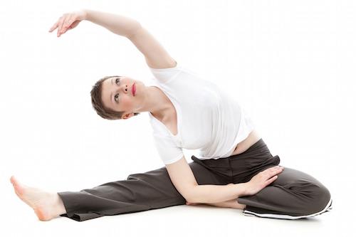 Stretching och stretchövningar.