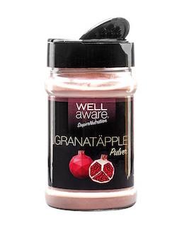 wellaware-granatäpplepulver