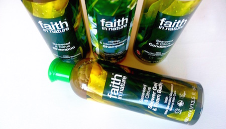 Faith in nature schampo och balsam