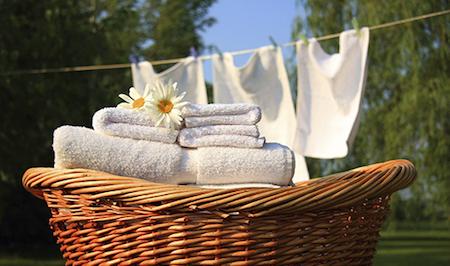 Ren tvätt med vinäger
