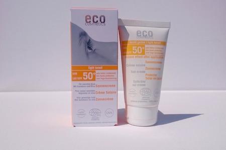 Eco cosmetic - ekologiskt solskydd